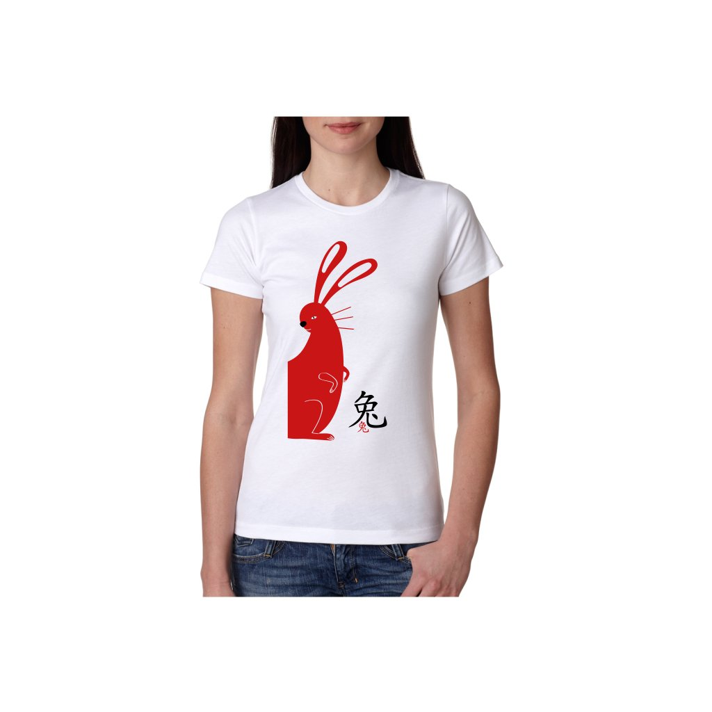 Dámské tričko - Zajíc - čínský horoskop