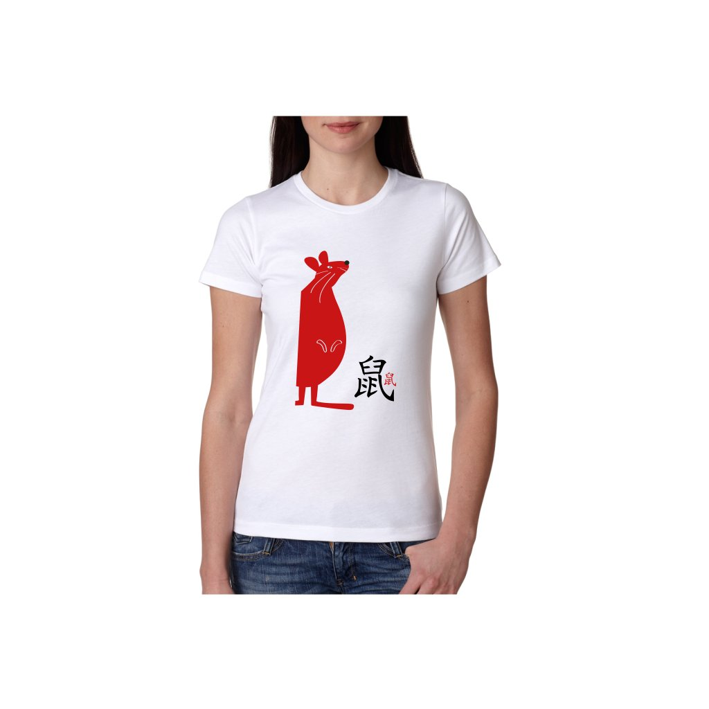Dámské tričko - Krysa - čínský horoskop