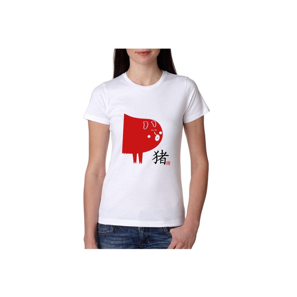 Dámské tričko - Vepř - čínský horoskop