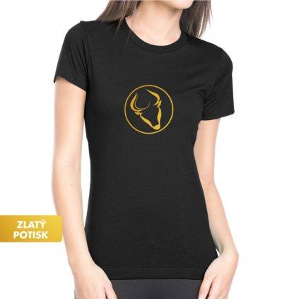 Dámské tričko - Býk - Tradiční horoskop
