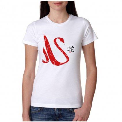 Dámské tričko - Had - čínský horoskop