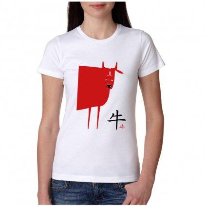 Dámské tričko - Buvol - čínský horoskop