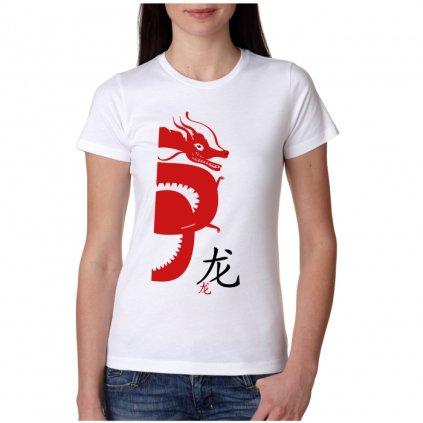 Dámské tričko - Drak - čínský horoskop