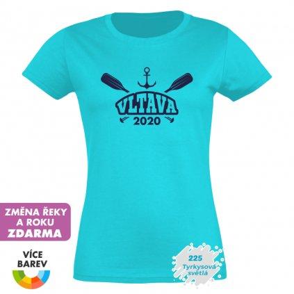 Trikoto - Dámské tričko - Na vodu - Velká řeka