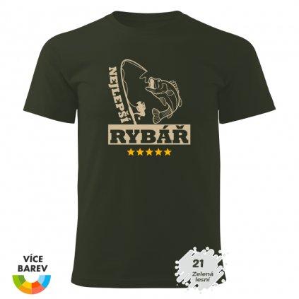 Pánské tričko - Nejlepší rybář