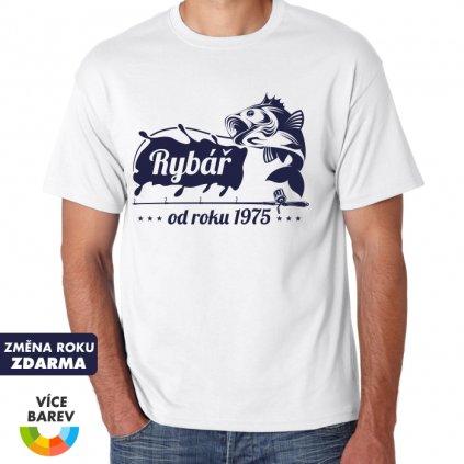 Pánské tričko - Rybář od roku