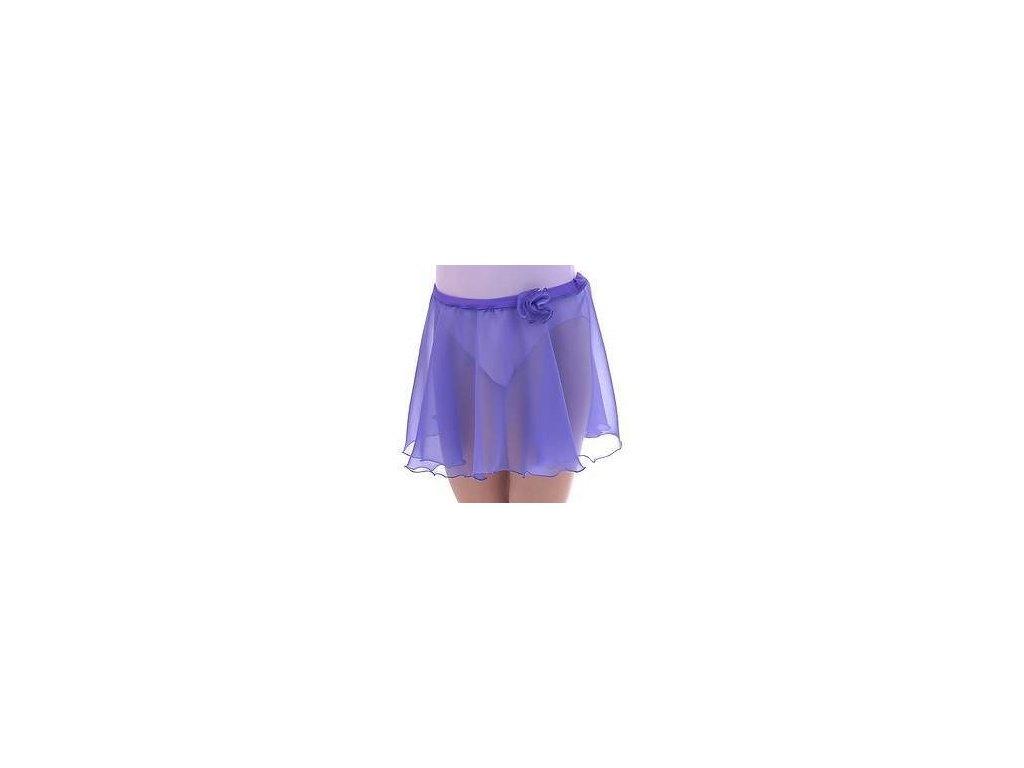 sukne sifon fialová DETAIL