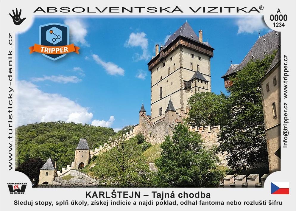 Tajná chodba na Karlštejně