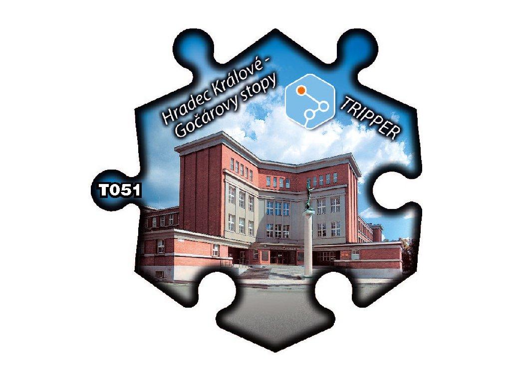 puzzle Tripper Hradec Kralove Gocarovy stopy T051 (1)