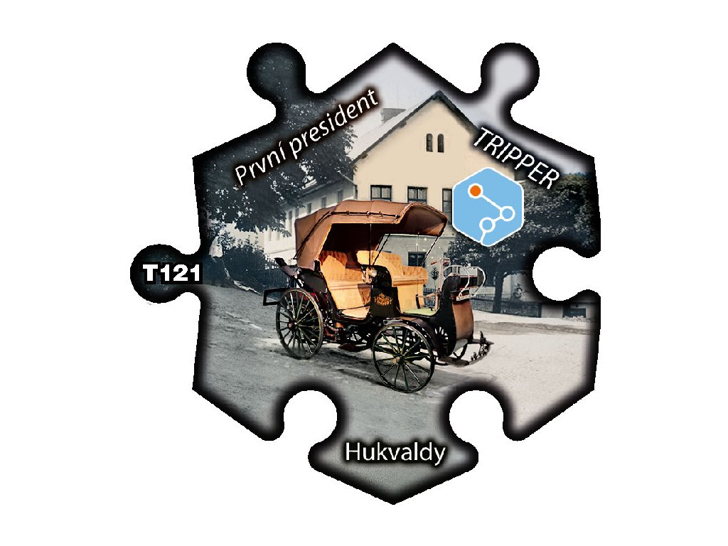 puzzle Tripper Hukvaldy prvni president T121 (1)