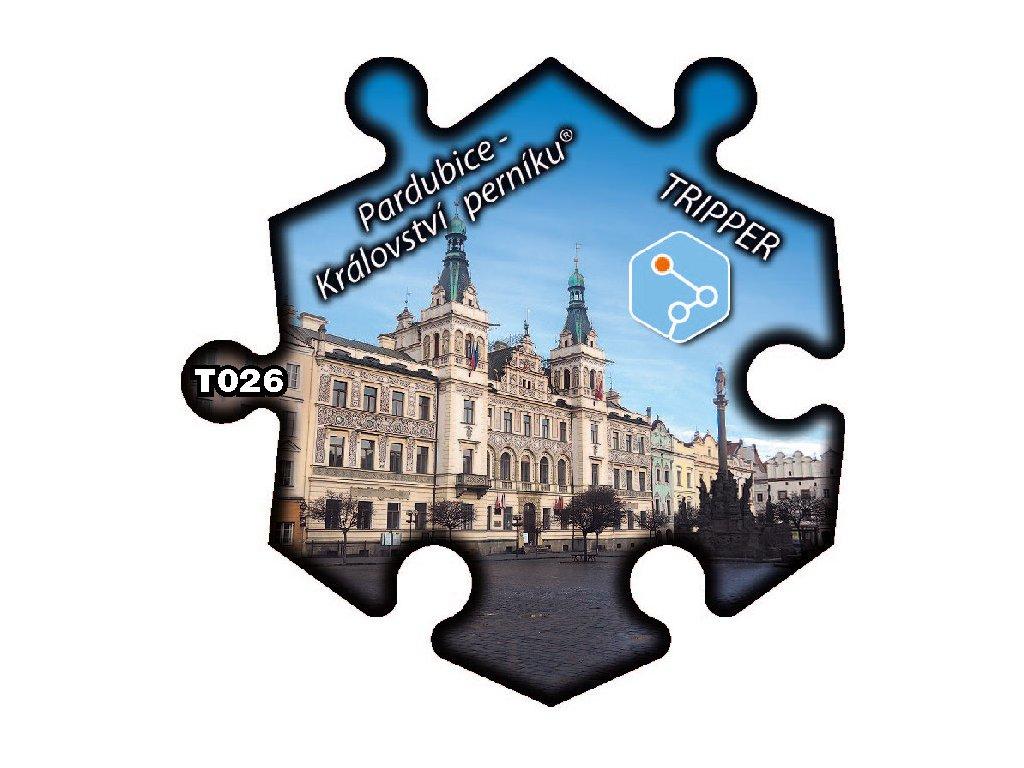 puzzle Tripper Pardubice Kralovstvi perniku® T026 (1)