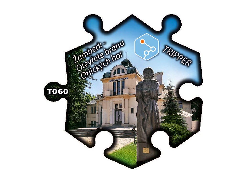 puzzle Tripper ZamberkOtevrete branu Orlických hor T060 (1)