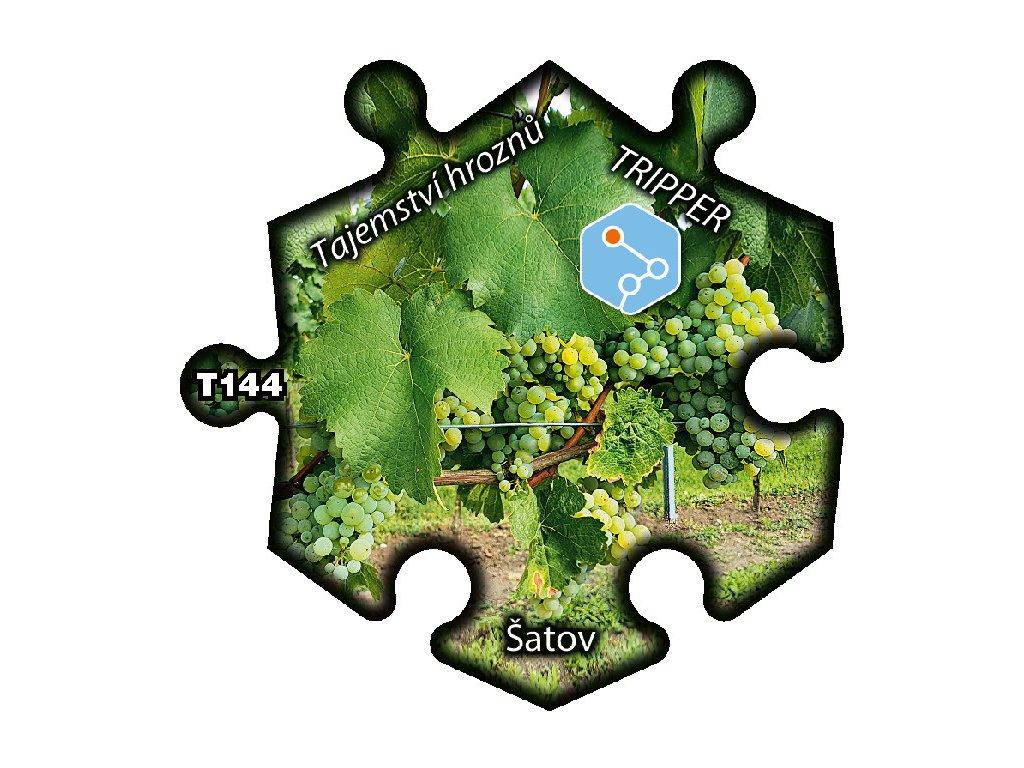 puzzle Tripper Satov Tajemstvi hroznu T144
