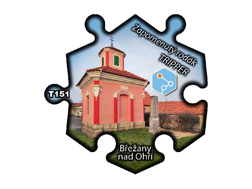 puzzle Tripper Brezany nad Ohri Zapomenuty rodak T151