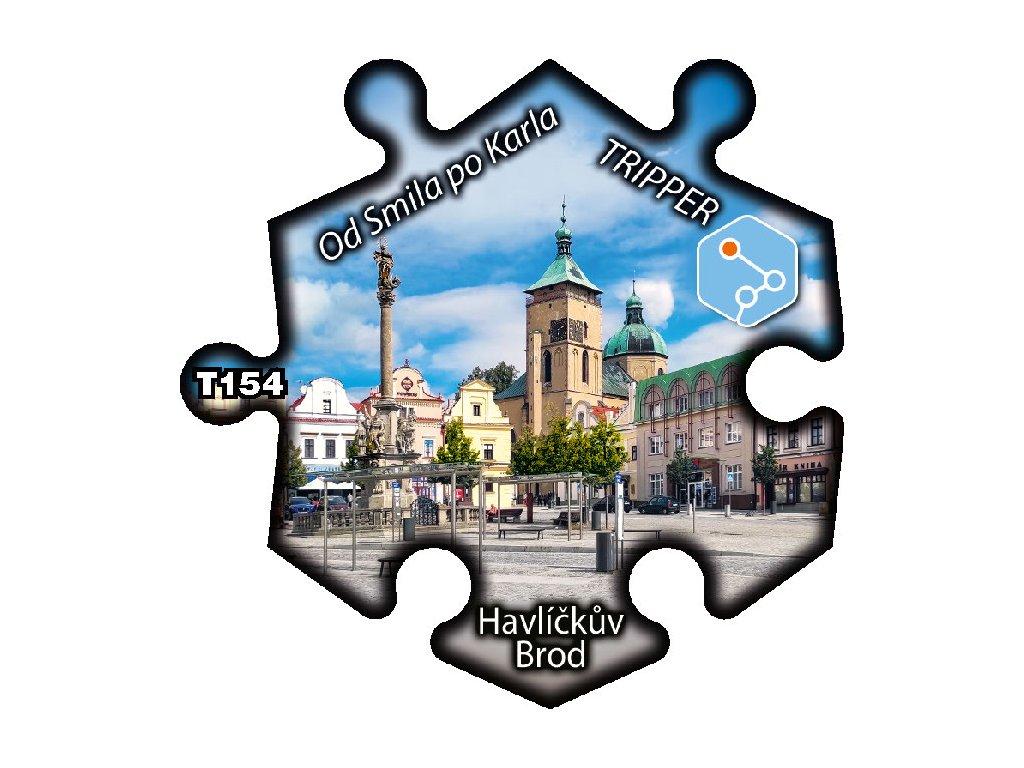 puzzle Tripper Havlickuv Brod Od Smila po Karla T154