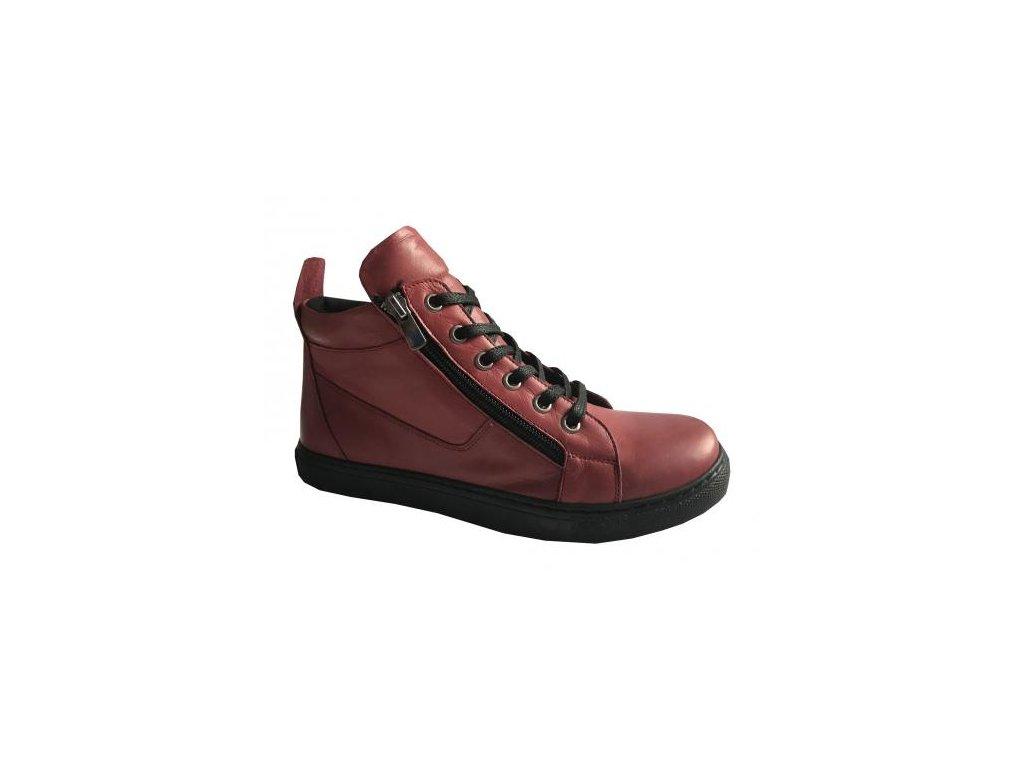 str maly 1603888673 looke zimni kotnikova zdravotni obuv jocelina dark red