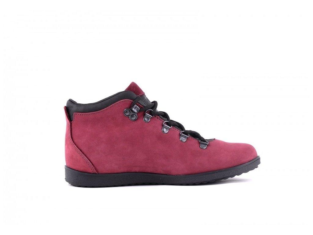 0072920 trek sport 77 30 damske outdoorove boty cervene