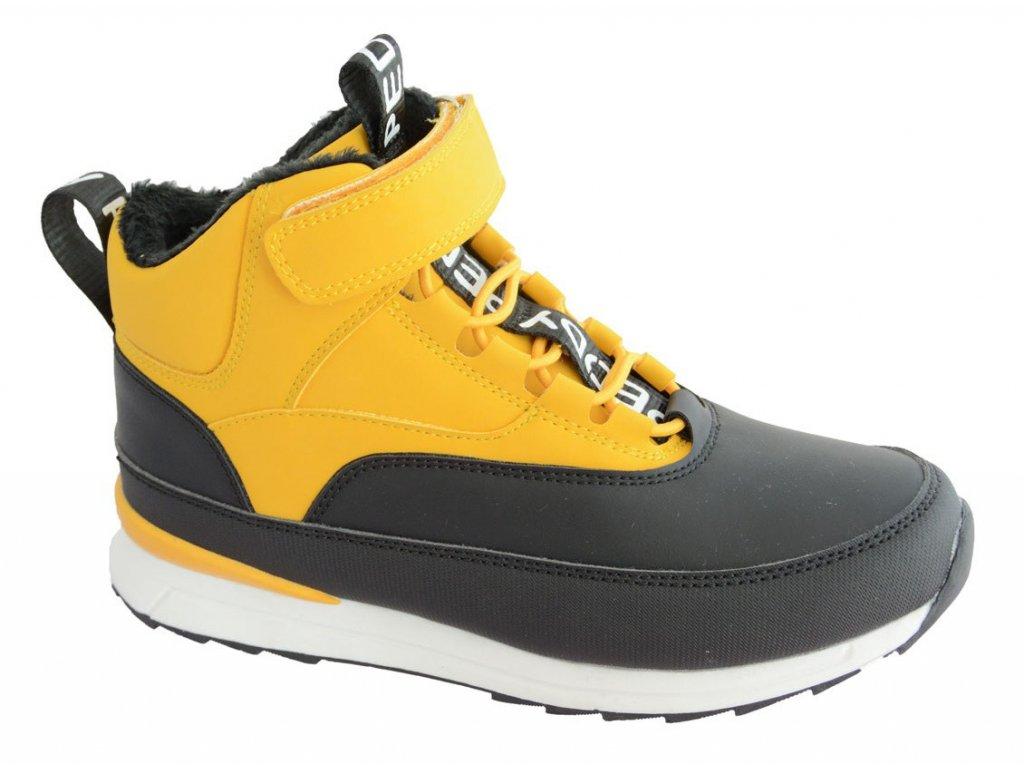 0075996 peddy p3 536 31 11 detske zimni boty zlute