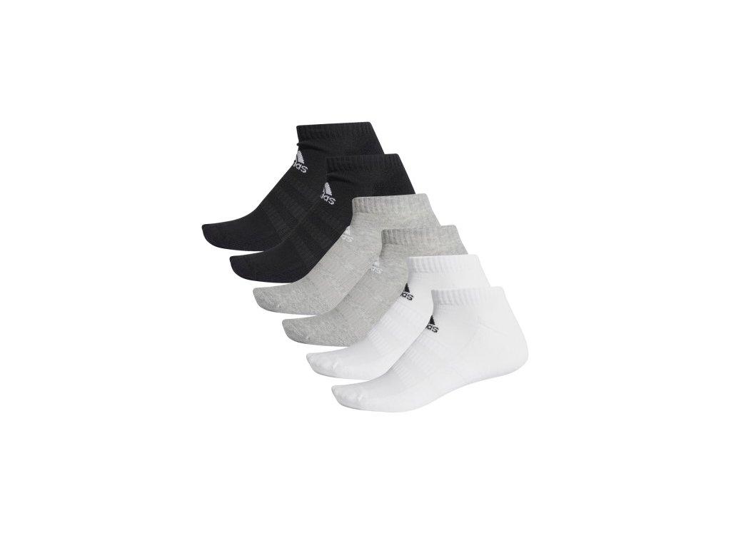 ponozky adidas cush low 6pp dz9380