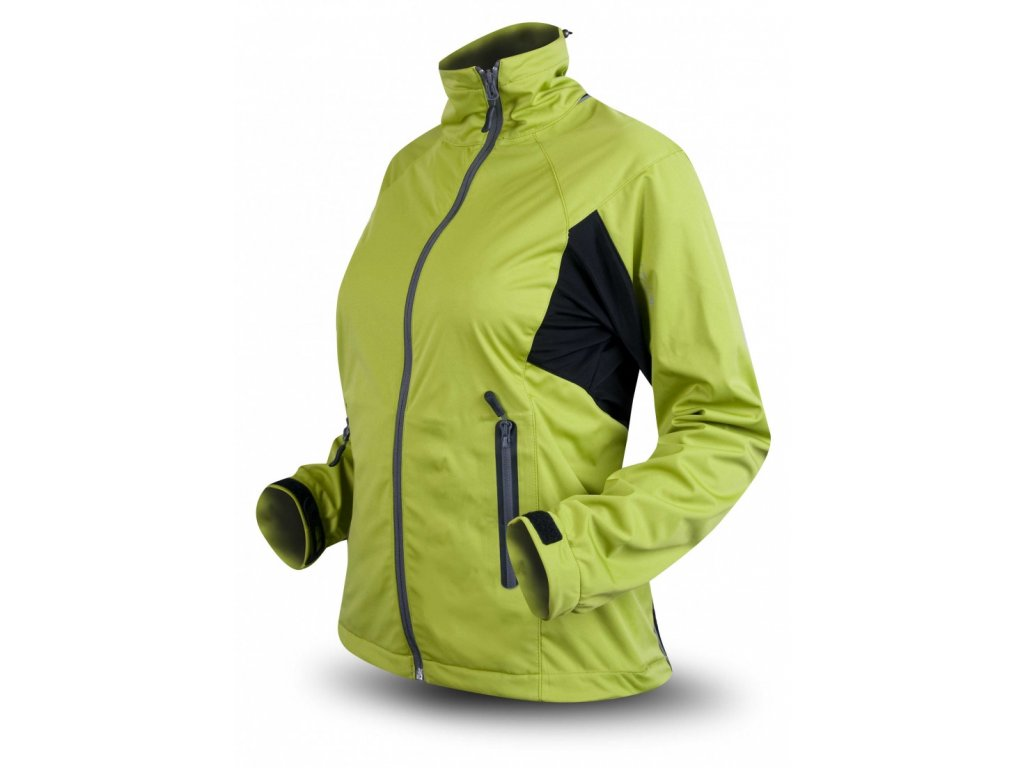 a79a4ee2 damska bunda trimm x trail zelena cerna warm green black
