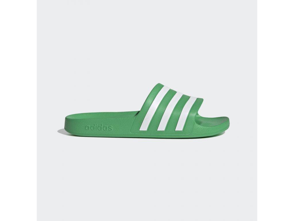 Pantofle Adilette Aqua zelena FY8048 01 standard