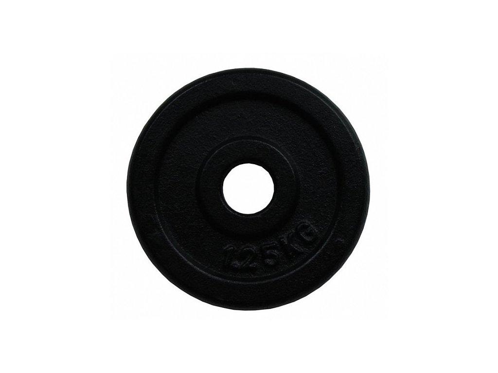 Litinový kotouč 1,25kg 30mm