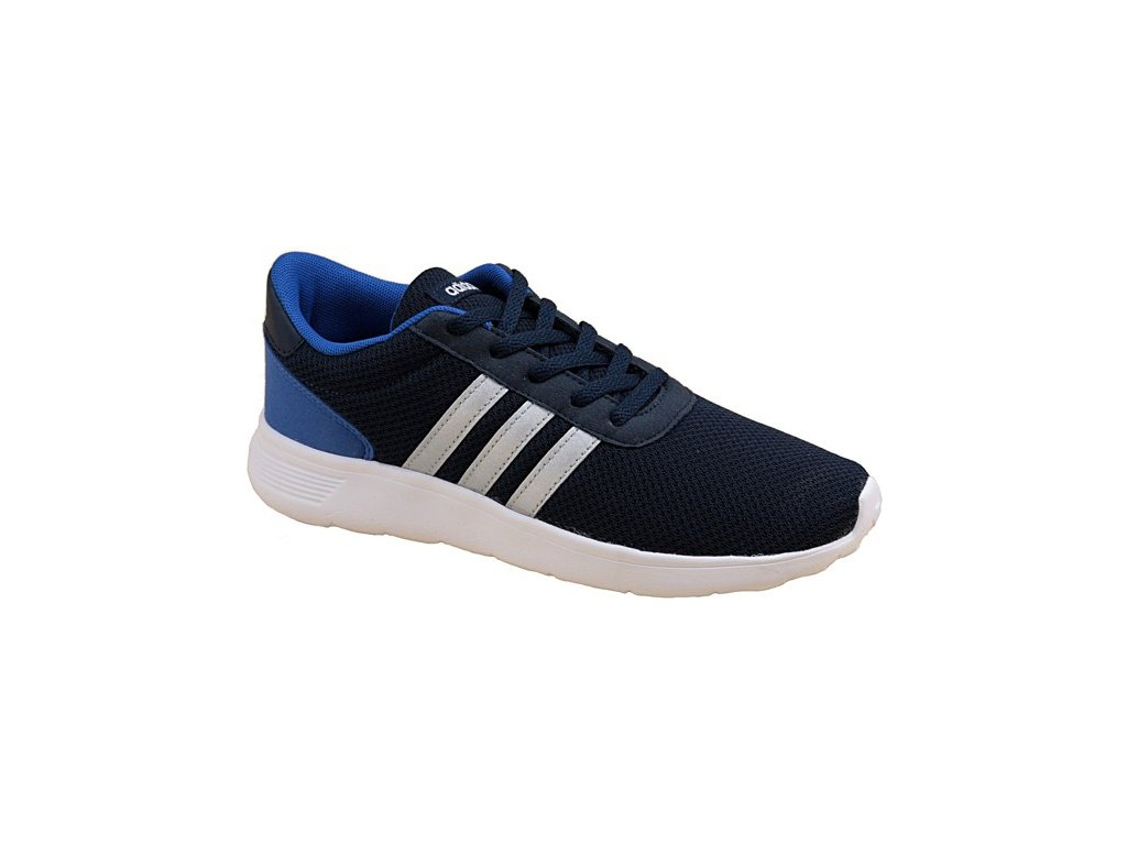 adidas lite racer k aw4053 kids navy blue sports shoes