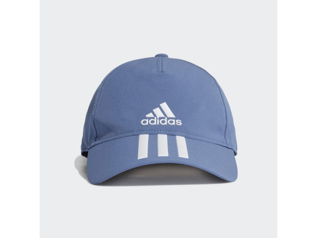 AEROREADY 3 Stripes Baseball Cap Blue GM6279 01 standard