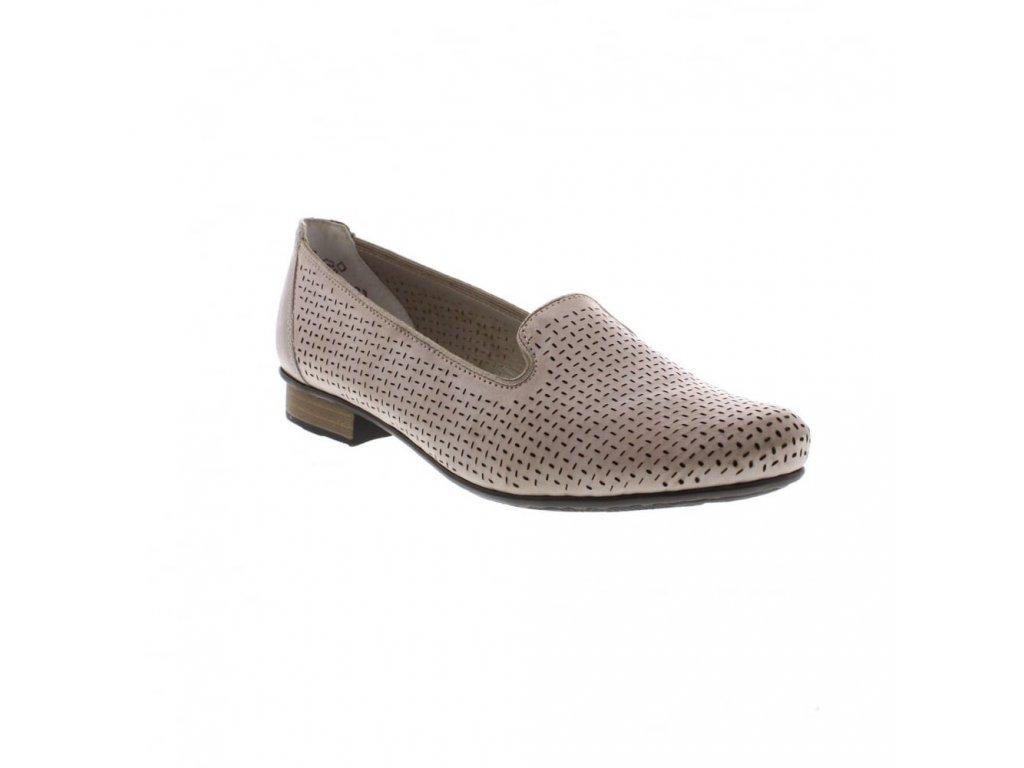 rieker 51977 40 ladies beige shoes p4978 8600 image