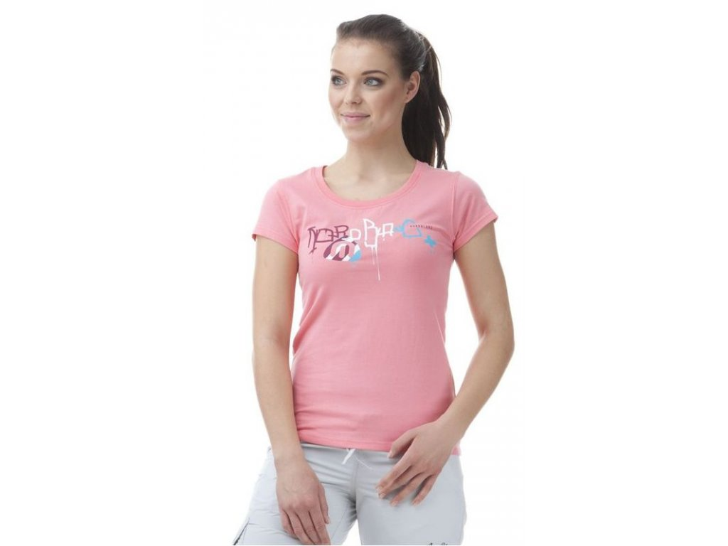 Dámské tričko Nordblanc NBSLT5644 PDR