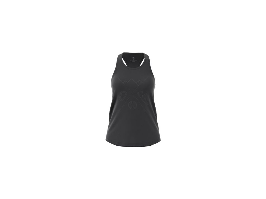 opplanet adidas outdoor ascend tank womens carbon dw5612 demo main