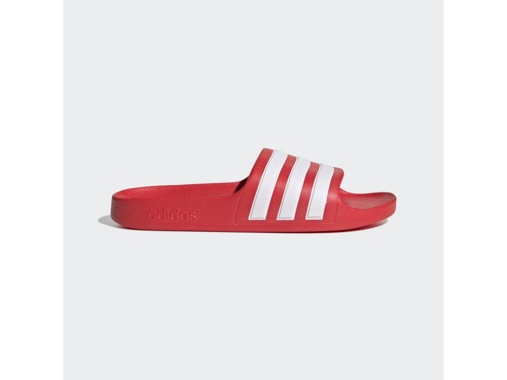Pantofle adilette Aqua cervena FY8066 01 standard