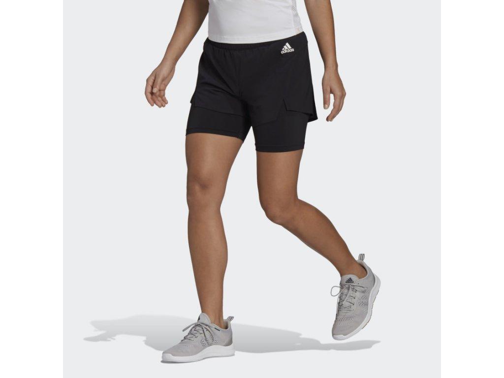 Primeblue Designed To Move 2 in 1 Sport Shorts Black GL4033 21 model