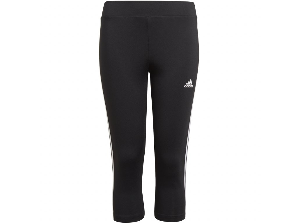 adidas kids designed to move 3 stripes 3 4 tights black white gn1465 1 969043
