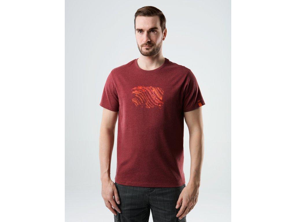29818 loap bopur panske triko cervena zihana oranzova clm2117g58xe