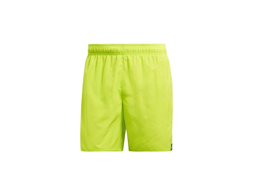 plavecke sortky adidas solid short short length cv5131