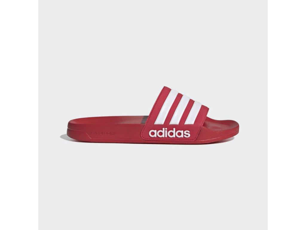 Pantofle Adilette Shower cervena FY7815 01 standard