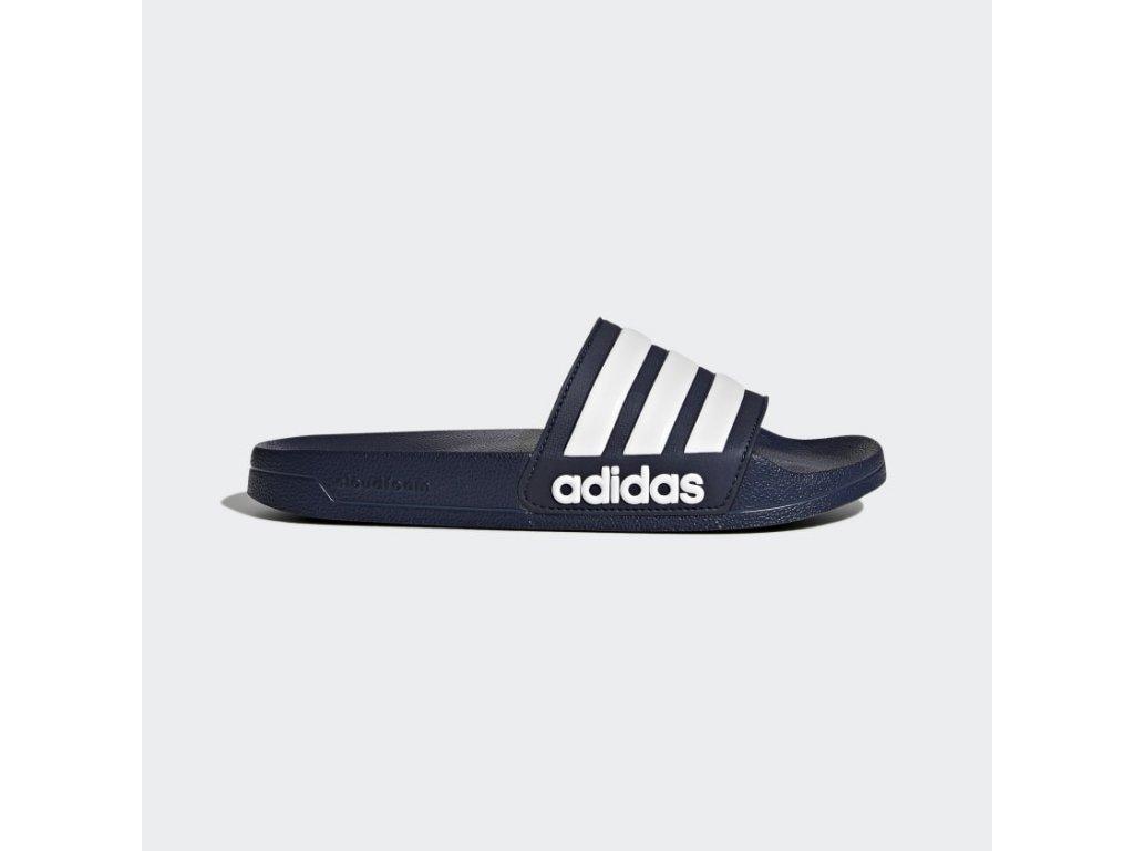 Pantofle Adilette Shower modra AQ1703 01 standard