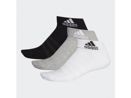 Ponozky Cushioned Ankle 3 pary seda DZ9364 03 standard