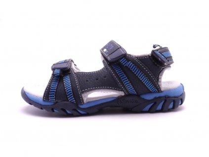 8892 detske sandalky tmave modre s217002
