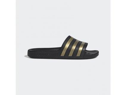 Pantofle Adilette Aqua cerna EG1758 01 standard