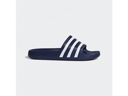Pantofle Adilette Aqua modra F35542 01 standard
