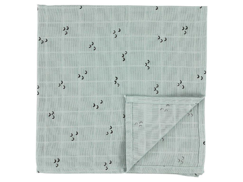 102 2 bavlnena plenka muslin cloths mountains 110 cm set 2 ks
