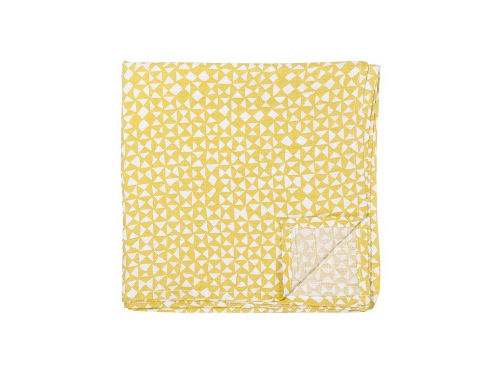 1614 bavlnena plenka muslin cloths diabolo 110 cm set 2 ks
