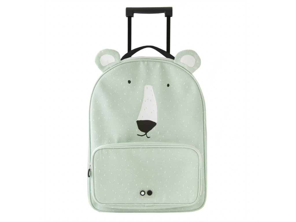1992 detsky kufr na koleckach trixie mr polar bear