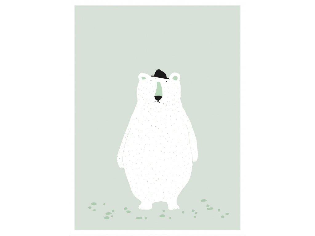 2001 plakat mr polar bear
