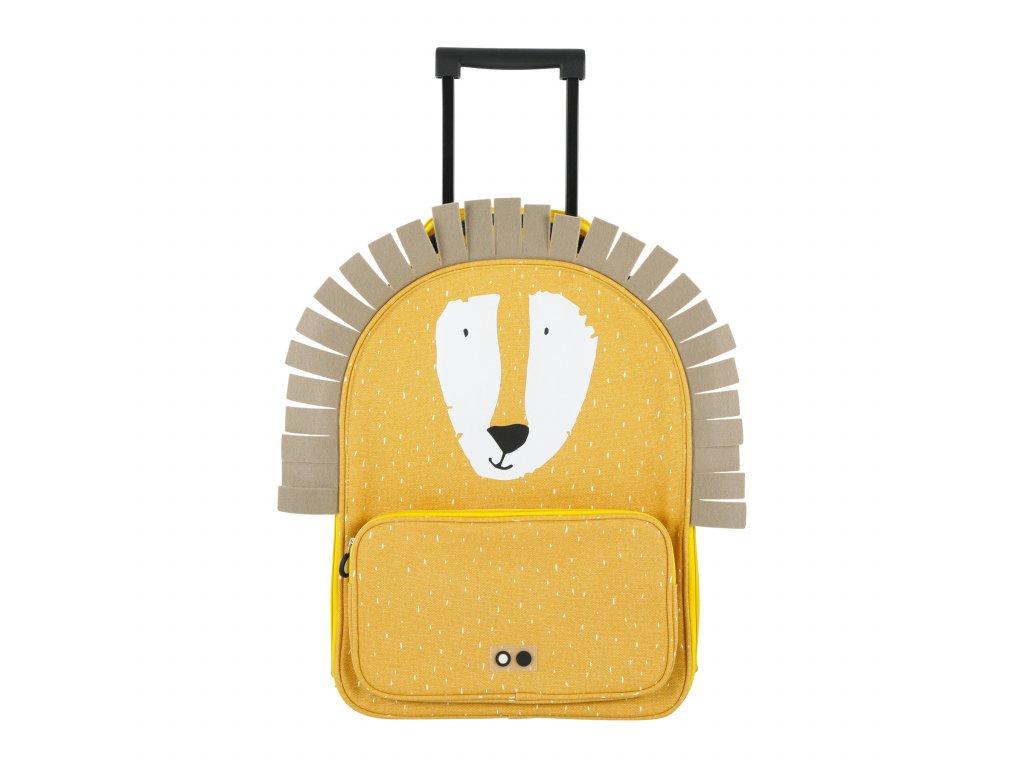 2073 detsky kufr na koleckach trixie mr lion