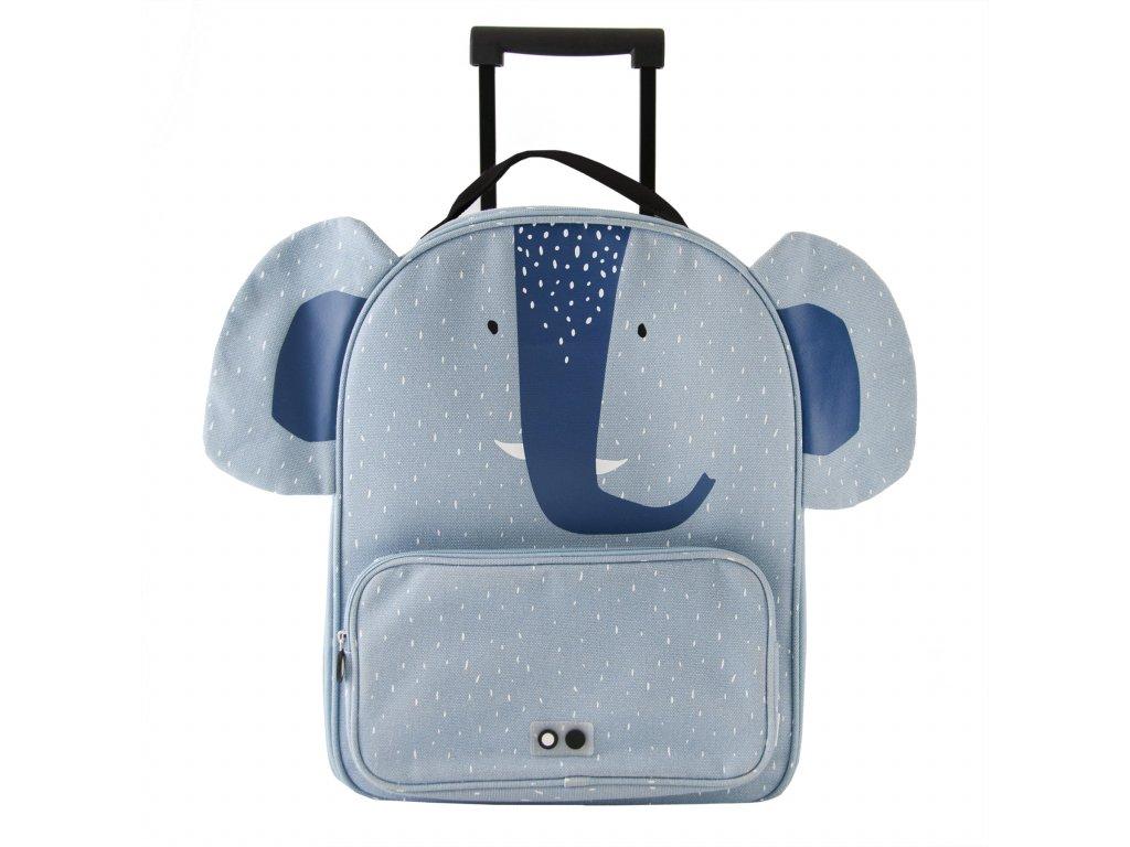 2091 trixie detsky kufr na koleckach mrs elephant