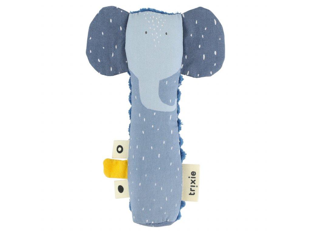 2283 2 piskaci hracka pro nejmensi trixie mrs elephant