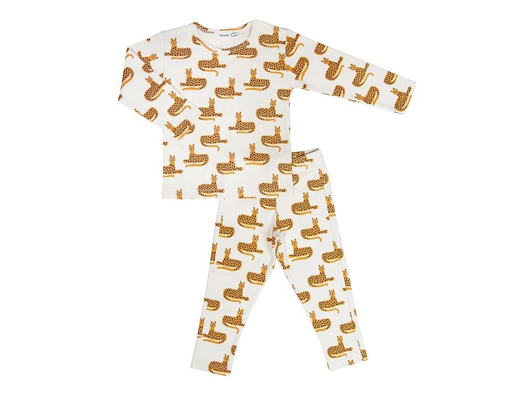 2757 1 detske pyzamo trixie cheetah 3 roky